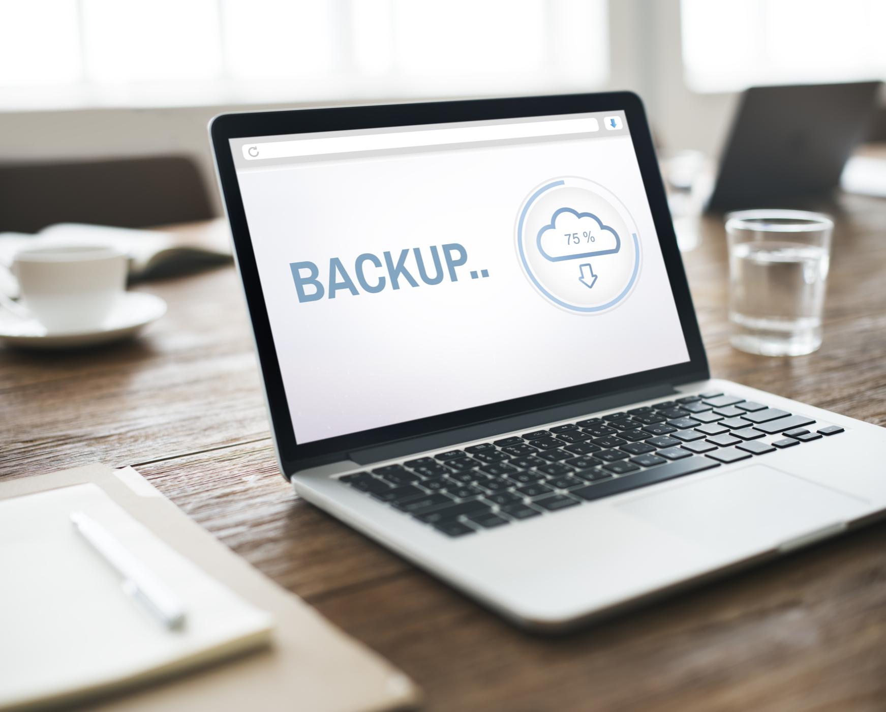 Automatisk backup af din computer