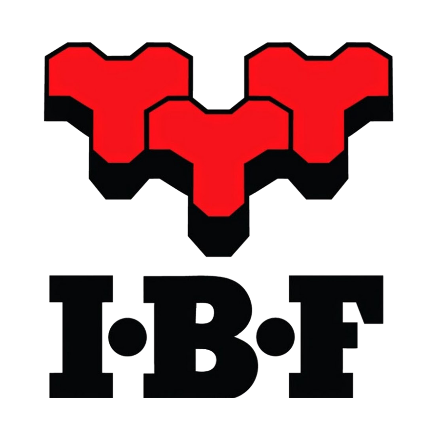 IBF logo - kunde ved Fiks IT