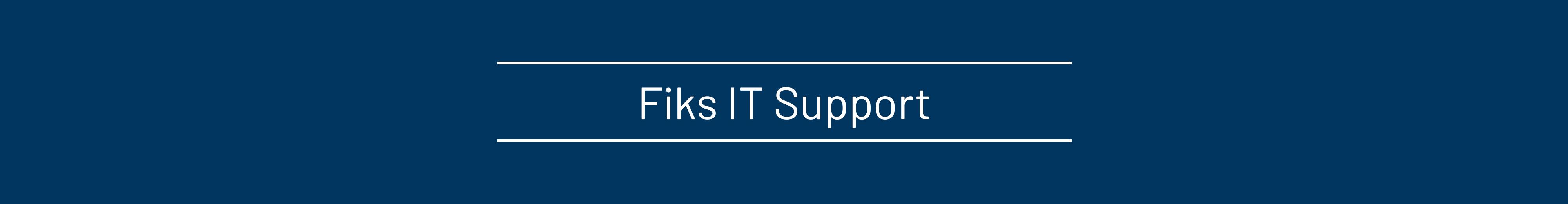 Support Fiks IT