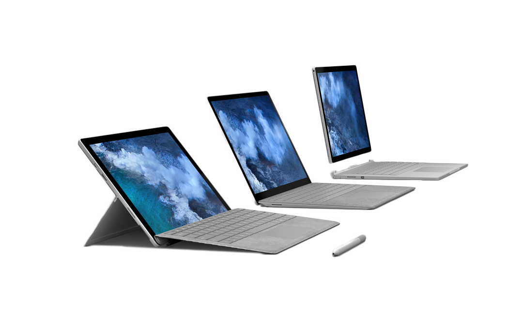 Surface serie - Microsoft Surface - computer med touchskærm