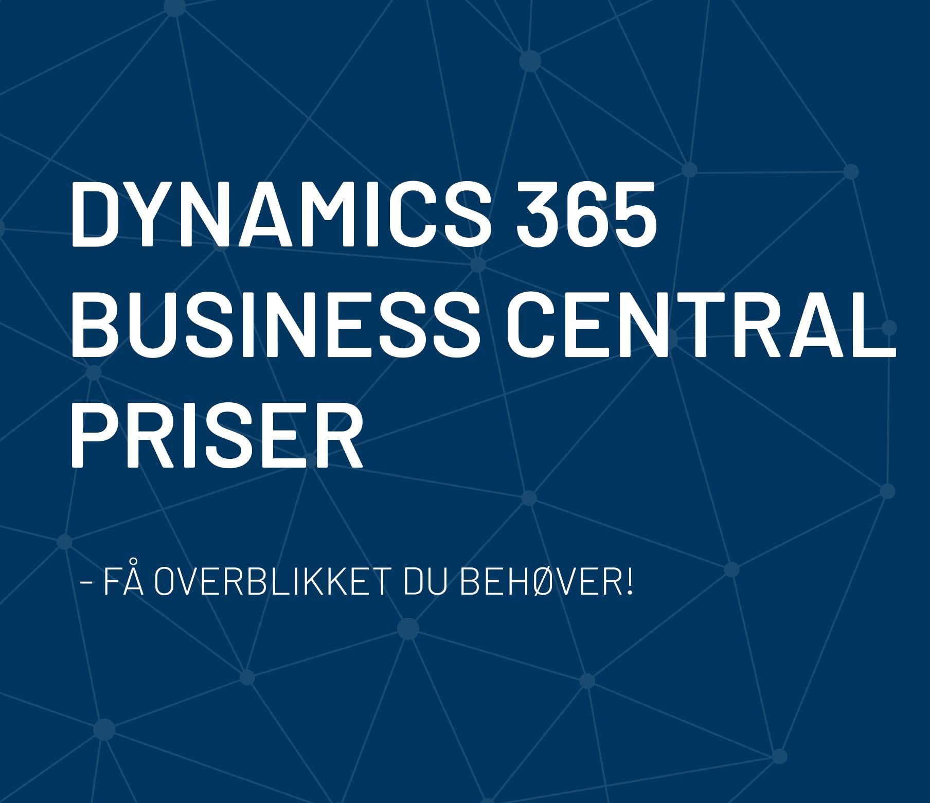 Dynamics-365-pris