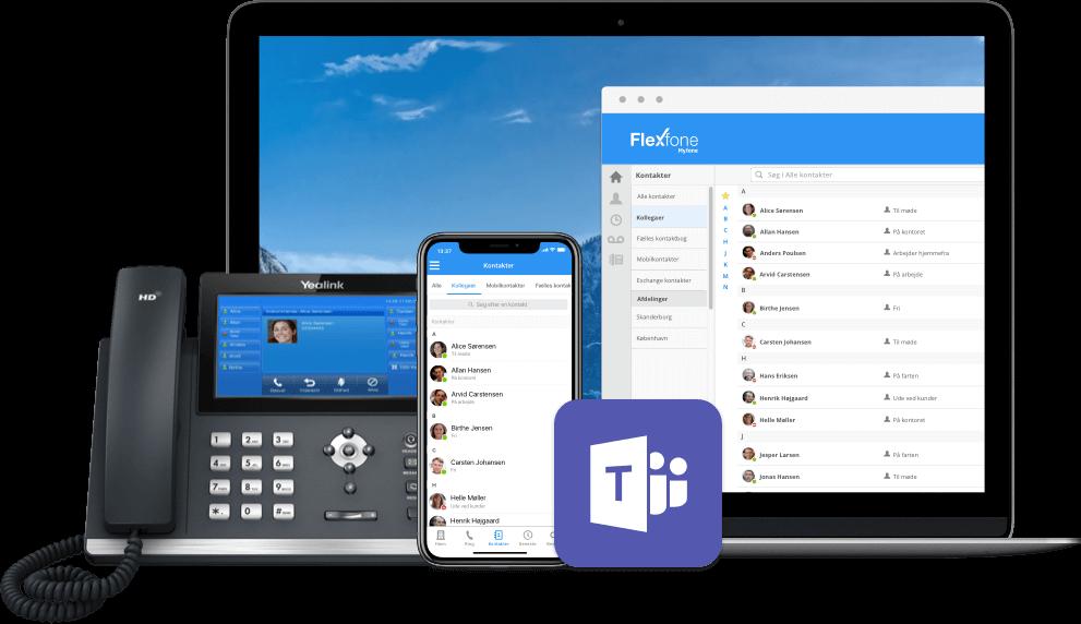 Faa stoerre frihed i din telefoni med Flexfone paa fire platforme