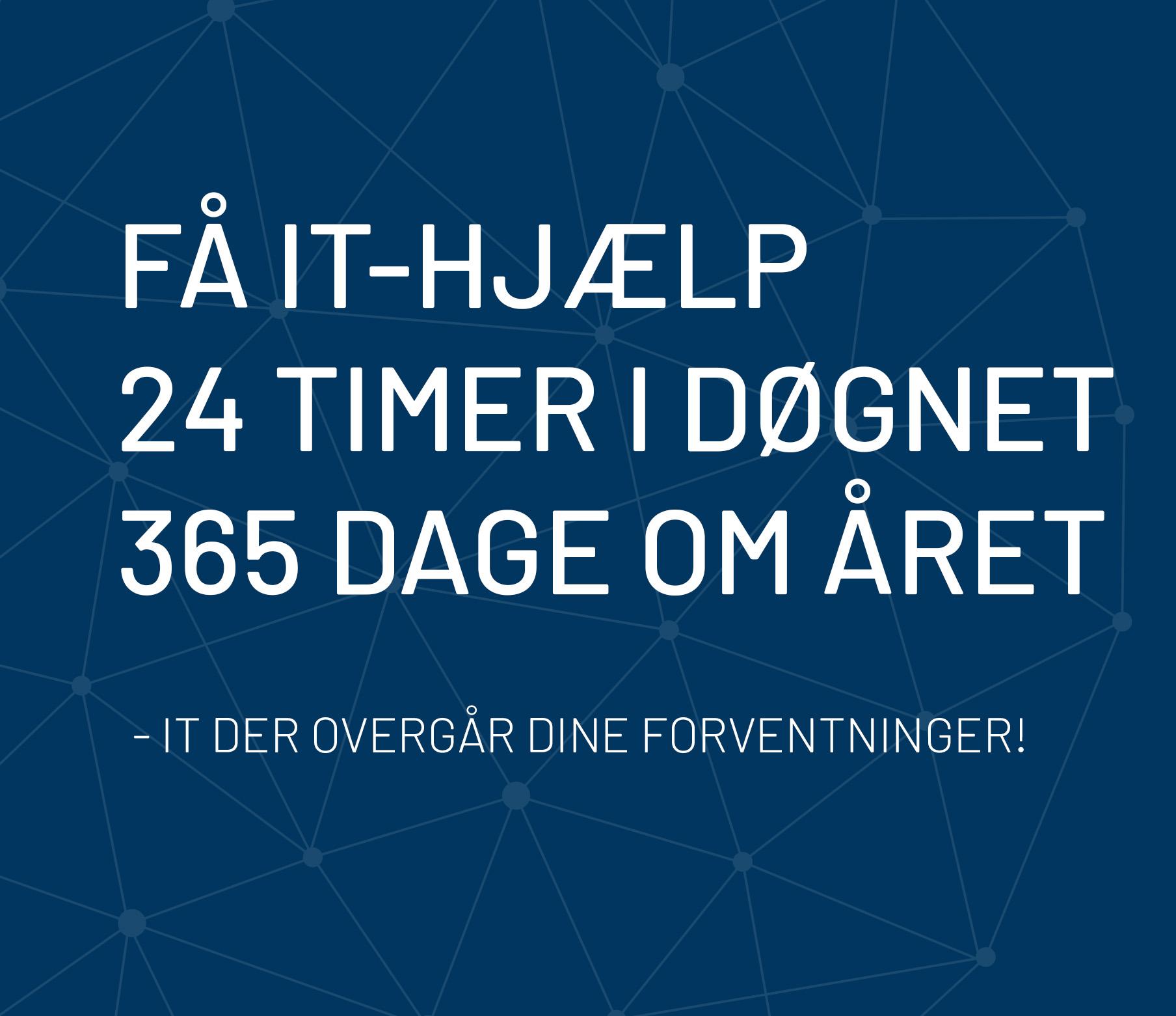 24/7 IT-support - Fiks IT