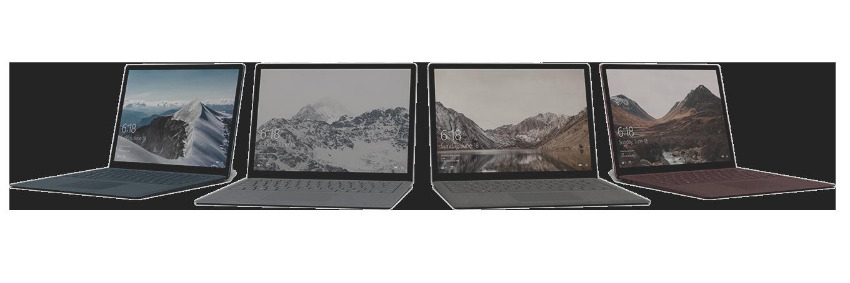 Surface-Laptop-4-forskellige-farver